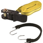 tiedown straps & bungee cords