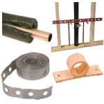pipe clamps & supports