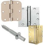 hinged door hardware