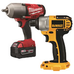 cordless impact drivers & impact wrenches