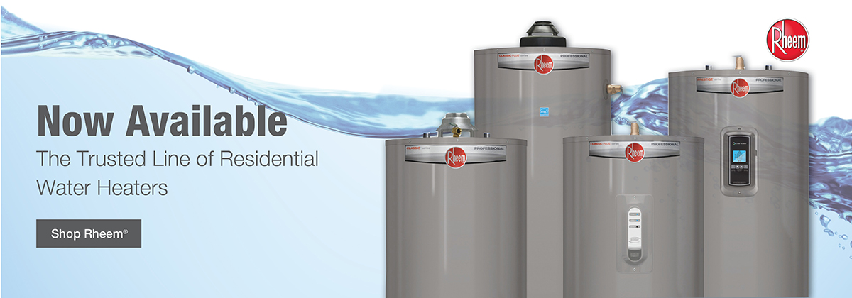The trusted line of residential water heaters now available. Shop Rheem.